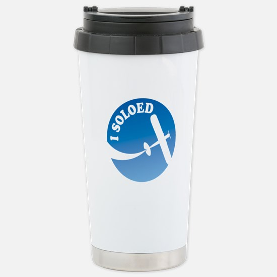 Airplane - I Soloed Stainless Steel Travel Mug