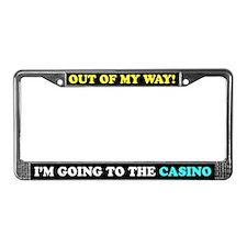 Casino Humor License Plate Frame