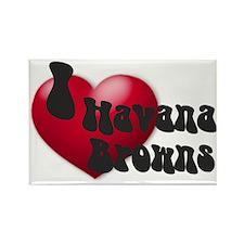 """I Love H-Browns"" Rectangle Magnet"