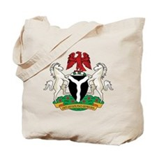 nigeria Coat of Arms Tote Bag