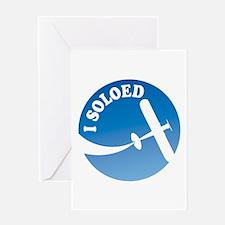 Airplane - I Soloed Greeting Card