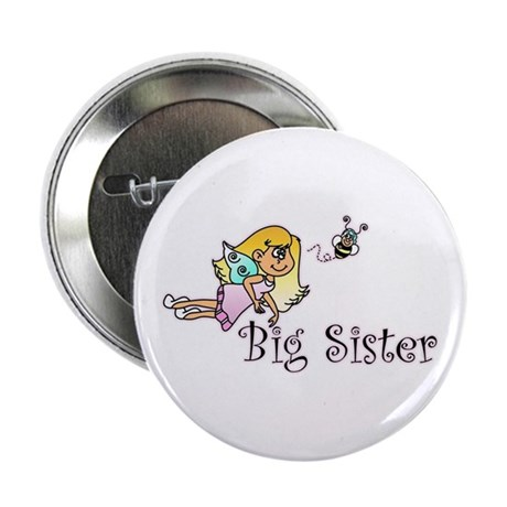 "Color Bee Fairy Big Sister 2.25"" Button"