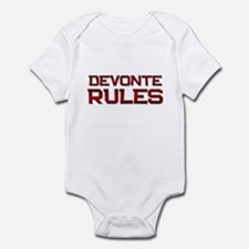 devonte rules Infant Bodysuit