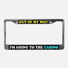 Casino Lovers License Plate Frame