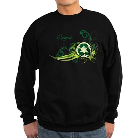Oregon Recycle T-Shirts and Gifts Sweatshirt (dark