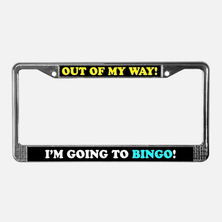 Bingo Lovers License Plate Frame