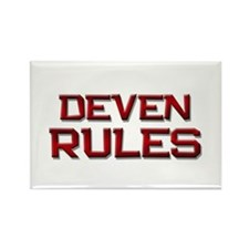 deven rules Rectangle Magnet