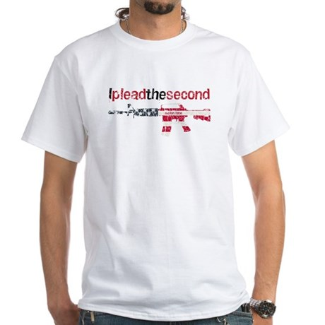 Defending Rights White T-Shirt