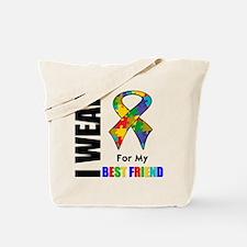 Autism Best Friend Tote Bag