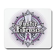Cystic Fibrosis Celtic Cross Mousepad