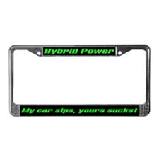 My Car Sips License Plate Frame