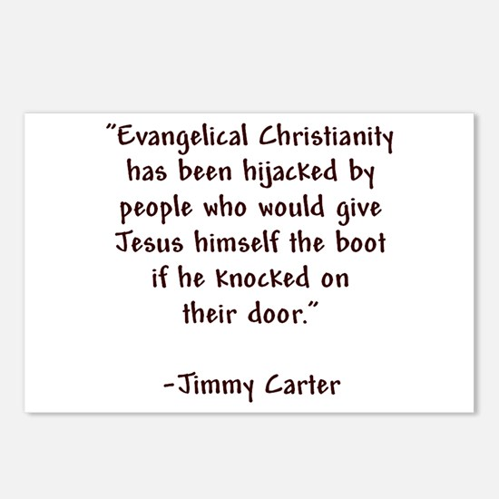 Jimmy Carter Quote Postcards (Package of 8)