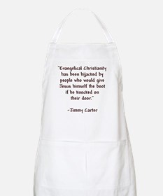 Jimmy Carter Quote BBQ Apron