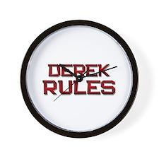 derek rules Wall Clock