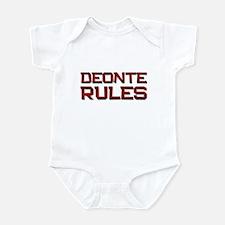 deonte rules Infant Bodysuit