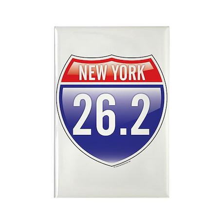 New York Marathon Rectangle Magnet (10 pack)
