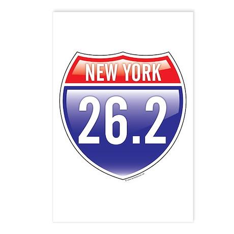 New York Marathon Postcards (Package of 8)