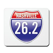 Nashville Marathon Mousepad