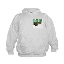 Florida Alligator Slogan Sweatshirt