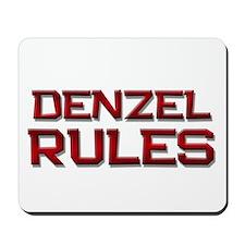 denzel rules Mousepad