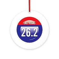Las Vegas Marathon Ornament (Round)