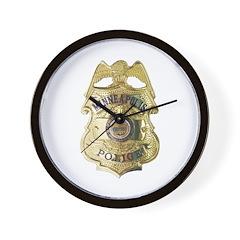 Minneapolis Police Wall Clock