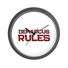 demarcus rules Wall Clock
