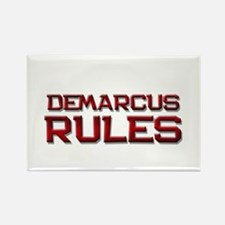demarcus rules Rectangle Magnet