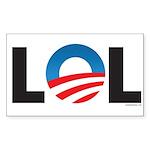 LOL Rectangle Sticker 10 pk)