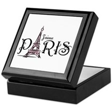 J'aime Paris Keepsake Box