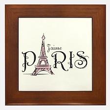 J'aime Paris Framed Tile