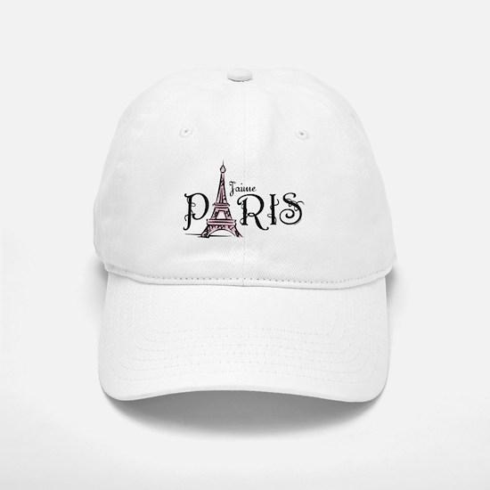 J'aime Paris Baseball Baseball Cap