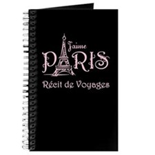 J'aime Paris Travel Journal