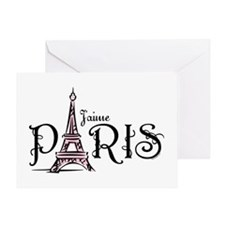 J'aime Paris Greeting Card