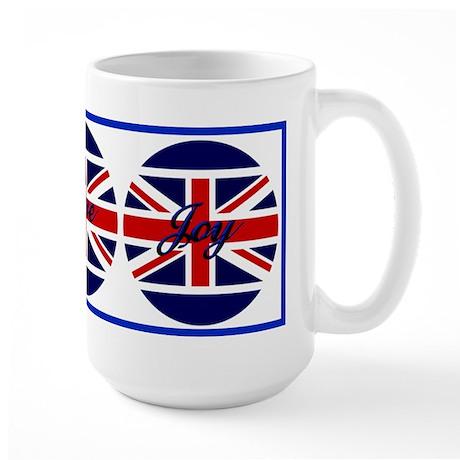 Great Britian 3 Wishes Large Mug