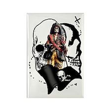 Pirate Design Rectangle Magnet