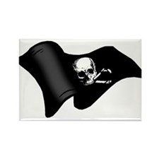 Pirates flag Rectangle Magnet