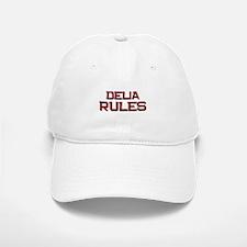delia rules Baseball Baseball Cap