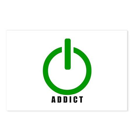 Addict Online Gamer Postcards (Package of 8)