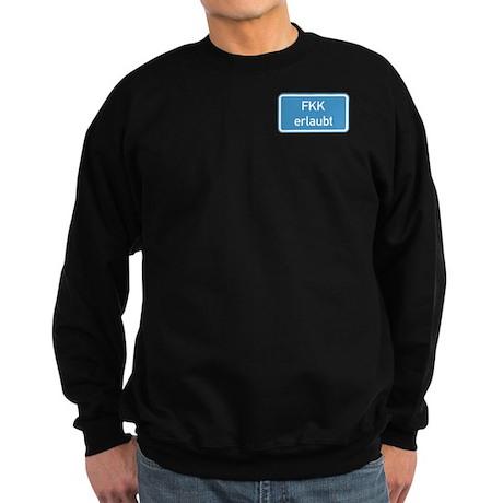 Nudism Allowed, Germany Sweatshirt (dark)