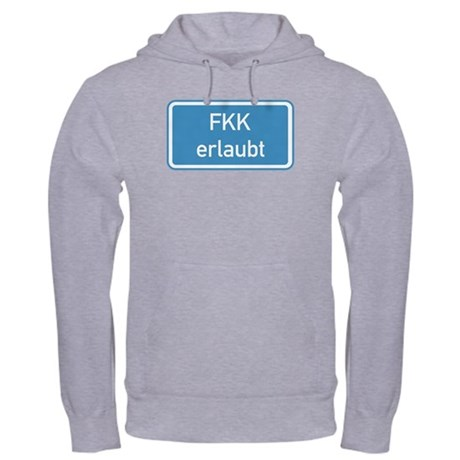 Nudism Allowed, Germany Hooded Sweatshirt