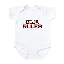 deja rules Infant Bodysuit