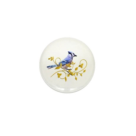 Blue Jay Mini Button (100 pack)