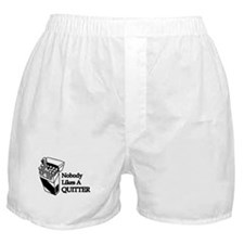 Nobody Likes A Quitter Boxer Shorts