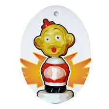 WDAP Oval Ornament