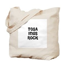 TOSA INUS ROCK Tote Bag