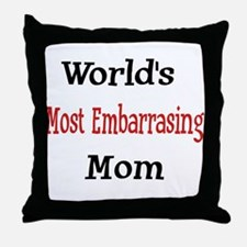 Most Embarassing Throw Pillow