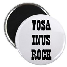 "TOSA INUS ROCK 2.25"" Magnet (10 pack)"