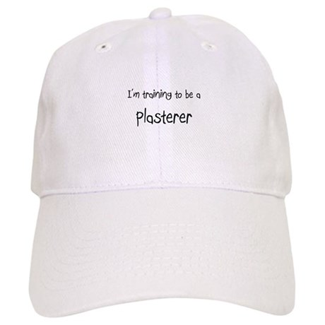I'm training to be a Plasterer Cap
