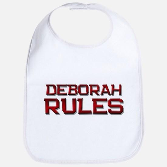 deborah rules Bib